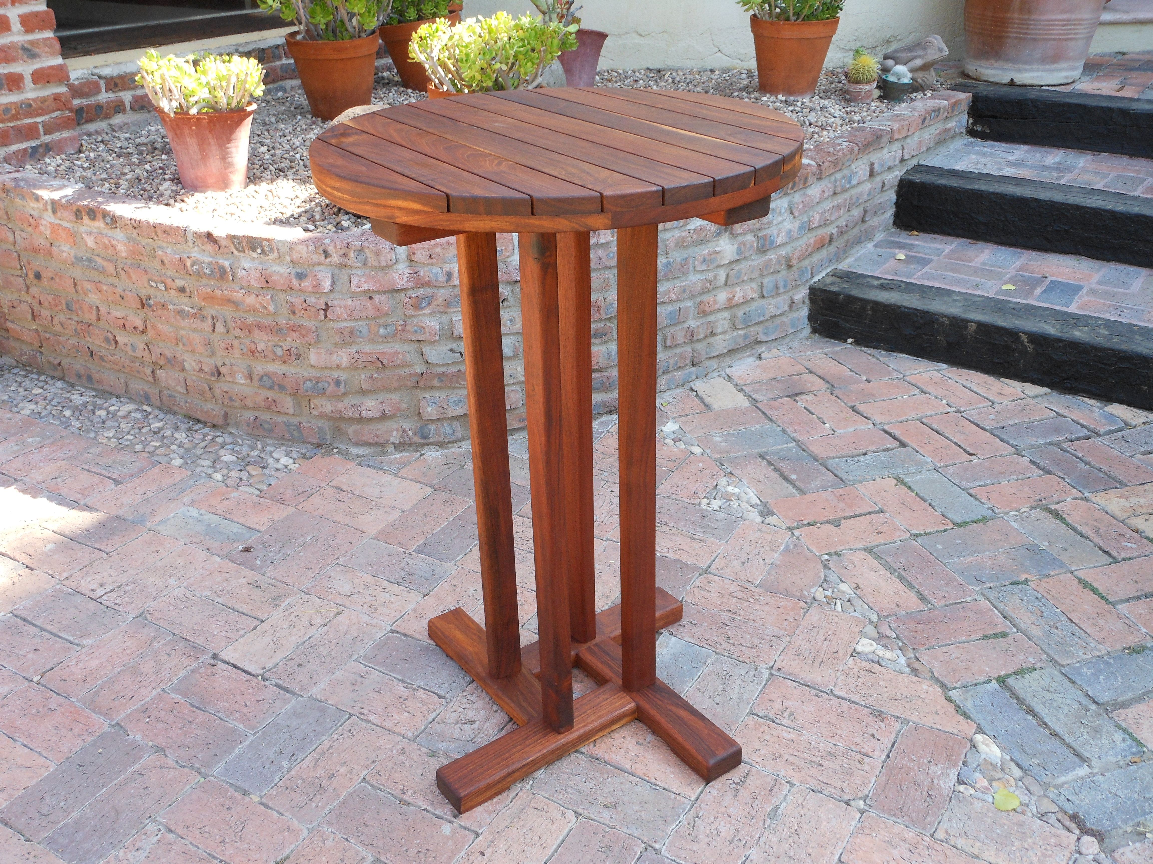 Round bar table resten outdoor furniture round bar table watchthetrailerfo