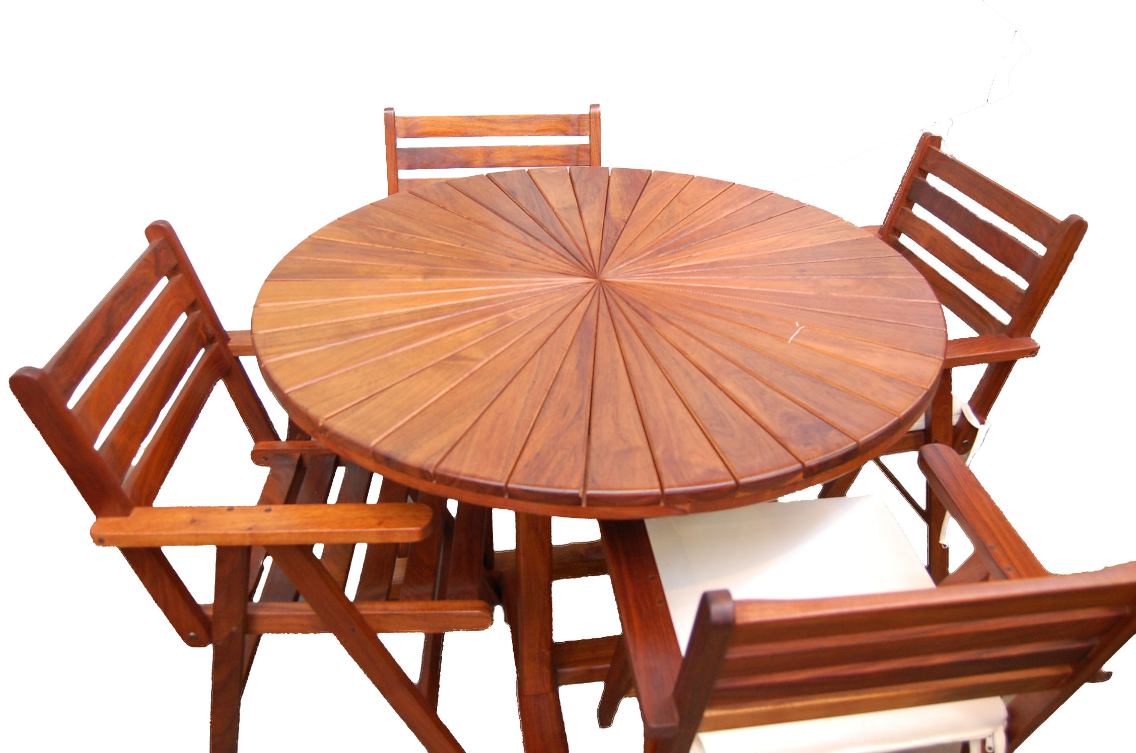 Radial table for Outdoor furniture high end